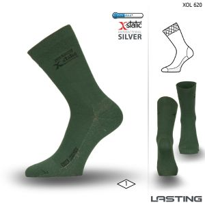 XOL 620 trekking socks with silver