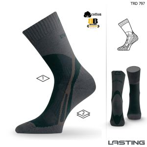 TRD 797 medium trekking socks