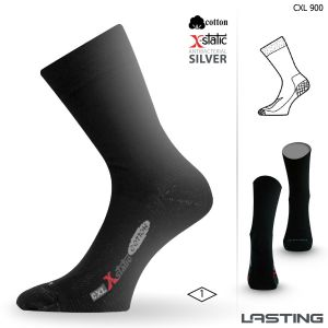 CXL 900 trekking cotton socks with silver